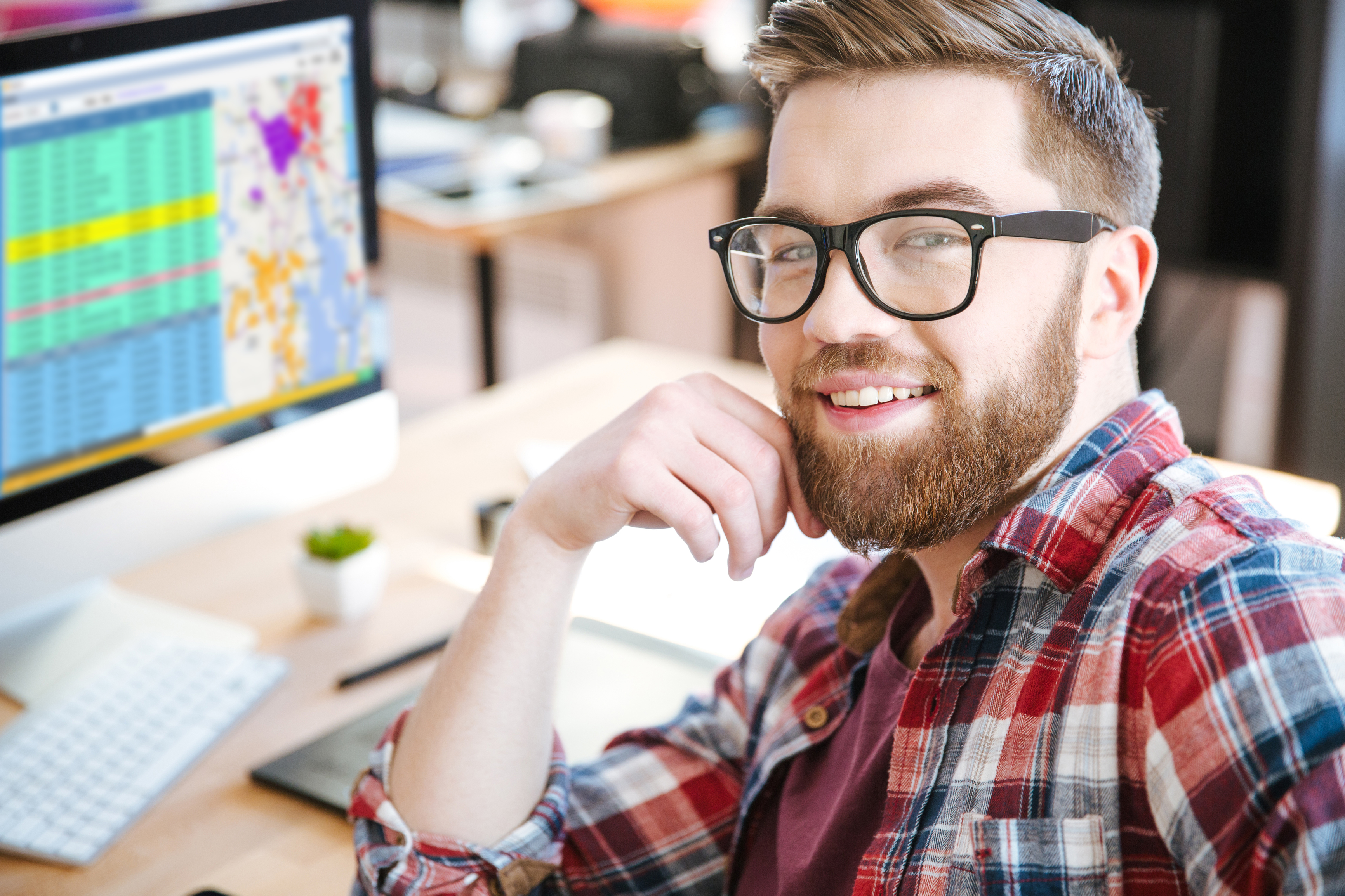 Man with beard and flannel shirt dispatch screen.jpg